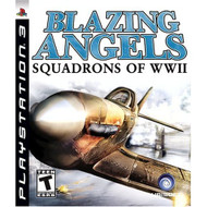 Blazing Angels Squadrons Of WWII For PlayStation 3 PS3 Flight - EE703385
