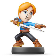 Nintendo Mii Swordfighter Amiibo Super Smash Bros Series For Wii U - EE703555