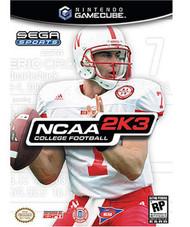 NCAA Football 2K3 For GameCube - EE703619