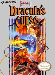 Castlevania III: Dracula's Curse For Nintendo NES Vintage - EE703730