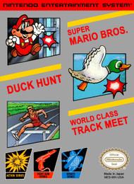 3-IN-1 Super Mario Bros / Duck Hunt / World Class Track Meet For - EE703734