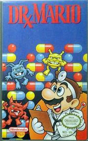 Dr Mario For Nintendo NES Vintage Puzzle - EE703732