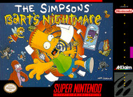 The Simpsons: Bart's Nightmare Nintendo Super NES For Super Nintendo - EE703747