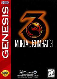 Mortal Kombat 3 For Sega Genesis Vintage With Manual and Case - EE703759