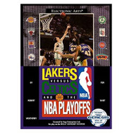 Lakers Vs Celtics And The NBA Playoffs For Sega Genesis Vintage - EE703758