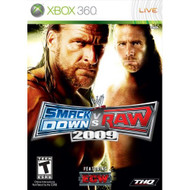 WWE Smackdown Vs Raw 2009 For Xbox 360 Wrestling - EE703830