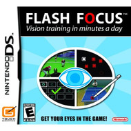 Flash Focus: Vision Training In Minutes A Day For Nintendo DS DSi 3DS  - EE703943
