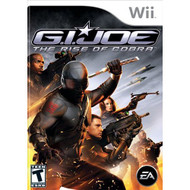 Gi Joe: The Rise Of Cobra For Wii With Manual and Case - EE703966