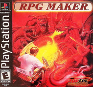 RPG Maker For PlayStation 1 PS1 With Manual and Case - EE704024
