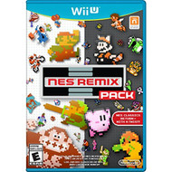 NES Remix Pack For Wii U With Manual and Case - EE704068