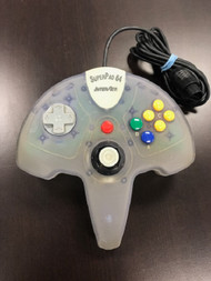 Superpad 64 Controller For The Nintendo 64 Clear For N64 JUW024 - EE704096