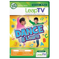 Leapfrog Leaptv Dance And Learn Educational Active Video Game For Leap - EE704243
