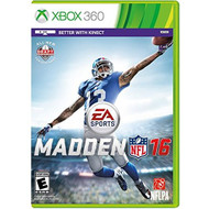 Madden NFL 16 For Xbox 360 Football - EE704352