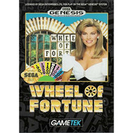 Wheel Of Fortune For Sega Genesis Vintage Board Games - EE704510