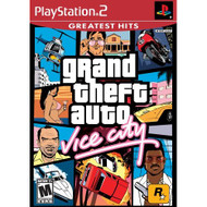 Grand Theft Auto Vice City For PlayStation 2 PS2 With Manual And Case - EE704663