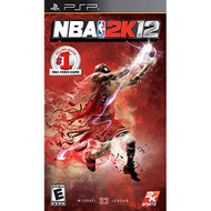 NBA 2K12 For PSP UMD Basketball With Manual and Case - EE704732