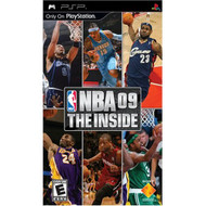 NBA '09 The Inside Sony For PSP UMD Basketball With Manual and Case - EE704771