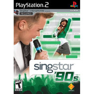 Singstar '90S Stand Alone For PlayStation 2 PS2 With Manual and Case - EE704784
