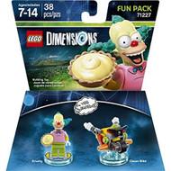 Lego Dimensions Simpsons Krusty Fun Pack Toy - EE704857