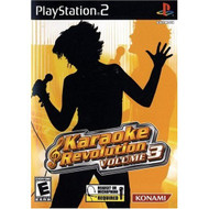 Karaoke Revolution Volume 3 For PlayStation 2 PS2 Music - EE704878
