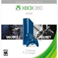 Microsoft 3M6-00052 Xbox 360 500GB Console Blue Multi-Color Home COD - EE704913