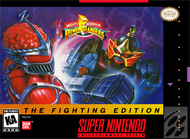 Mighty Morphin Power Rangers: The Fighting Edition For Super Nintendo - EE704942