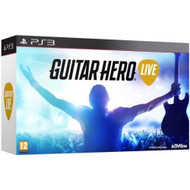Guitar Hero Live Game And Guitar Sony PS3 For PlayStation 3 Music - EE704986