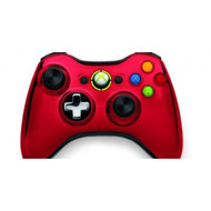 Chrome Series Limited Edition Wireless Controller Red For Xbox 360 - EE705243