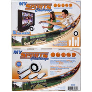 My Sports Challenge 6-IN-1 Wireless Video Game System Console - EE705251