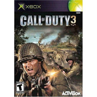 Call Of Duty 3 Xbox For Xbox Original COD Shooter With Manual and Case - EE705282