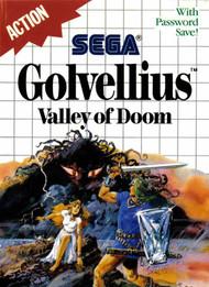 Golvellius Valley Of Doom System For Sega Master Vintage RPG - EE705320
