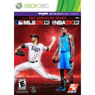 2K Sports Combo Pack MLB2K13/NBA2K13 For Xbox 360 - EE705381