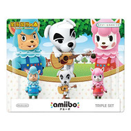Amiibo Triple Set Kaizo / Totakeke / Lisa Animal Crossing Series - EE705426