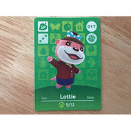 Animal Crossing Happy Home Designer Amiibo Card Lottie 017/100 TCG - EE705453