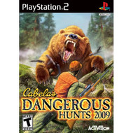 Cabela's Dangerous Hunts 2009 For PlayStation 2 PS2 Shooter With - EE705583
