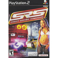 Srs: Street Racing Syndicate For PlayStation 2 PS2 Flight With Manual - EE705672