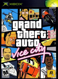 Grand Theft Auto Vice City For Xbox Original With Manual and Case - EE705745