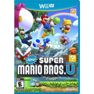 New Super Mario Bros U For Wii U With Manual And Case - EE705774