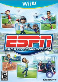 ESPN Sports Connection For Wii U With Manual And Case - EE705780