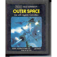 Outer Space 4975601 Vintage 2600 Game Cartridge For Atari - EE705864
