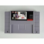 Madden NFL 98 For Super Nintendo SNES Football - EE705889