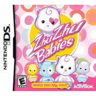 Zhu Zhu Babies For Nintendo DS DSi 3DS 2DS With Manual and Case - EE705899