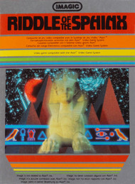 Riddle Of The Sphinx For Atari Vintage - EE705925