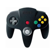 Nintendo 64 Controller Black For N64 NXN64-008 - EE706037