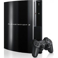 Sony PlayStation 3 80 GB Backwards Compatible Console Black Home CECHE - EE706071