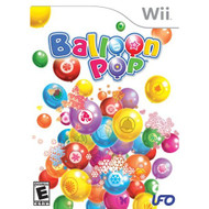 Balloon Pop For Wii Puzzle With Manual and Case - EE706141