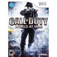 Call Of Duty: World At War For Wii COD Shooter With Manual and Case - EE706155