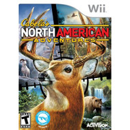 Cabela's North American Adventures For Wii Shooter With Manual and - EE706165