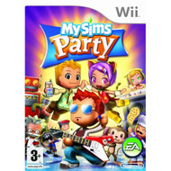 Mysims Party For Wii With Manual and Case - EE706167