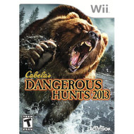 Cabela's Dangerous Hunts 2013 For Wii Shooter With Manual and Case - EE706186